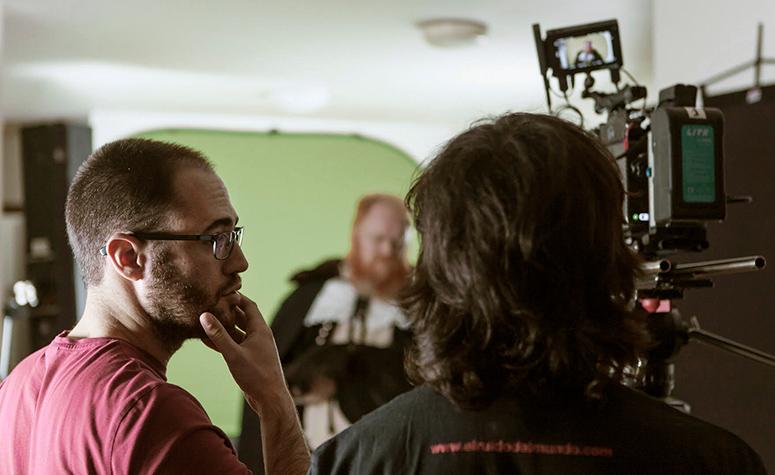 Aitor Aspe, cineasta y socio fundador de Old Port Films