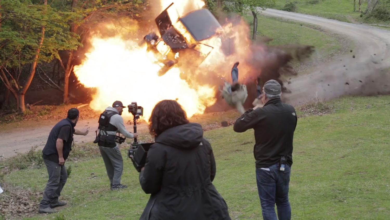 Making of de la película Guernika producido por Old Port Films