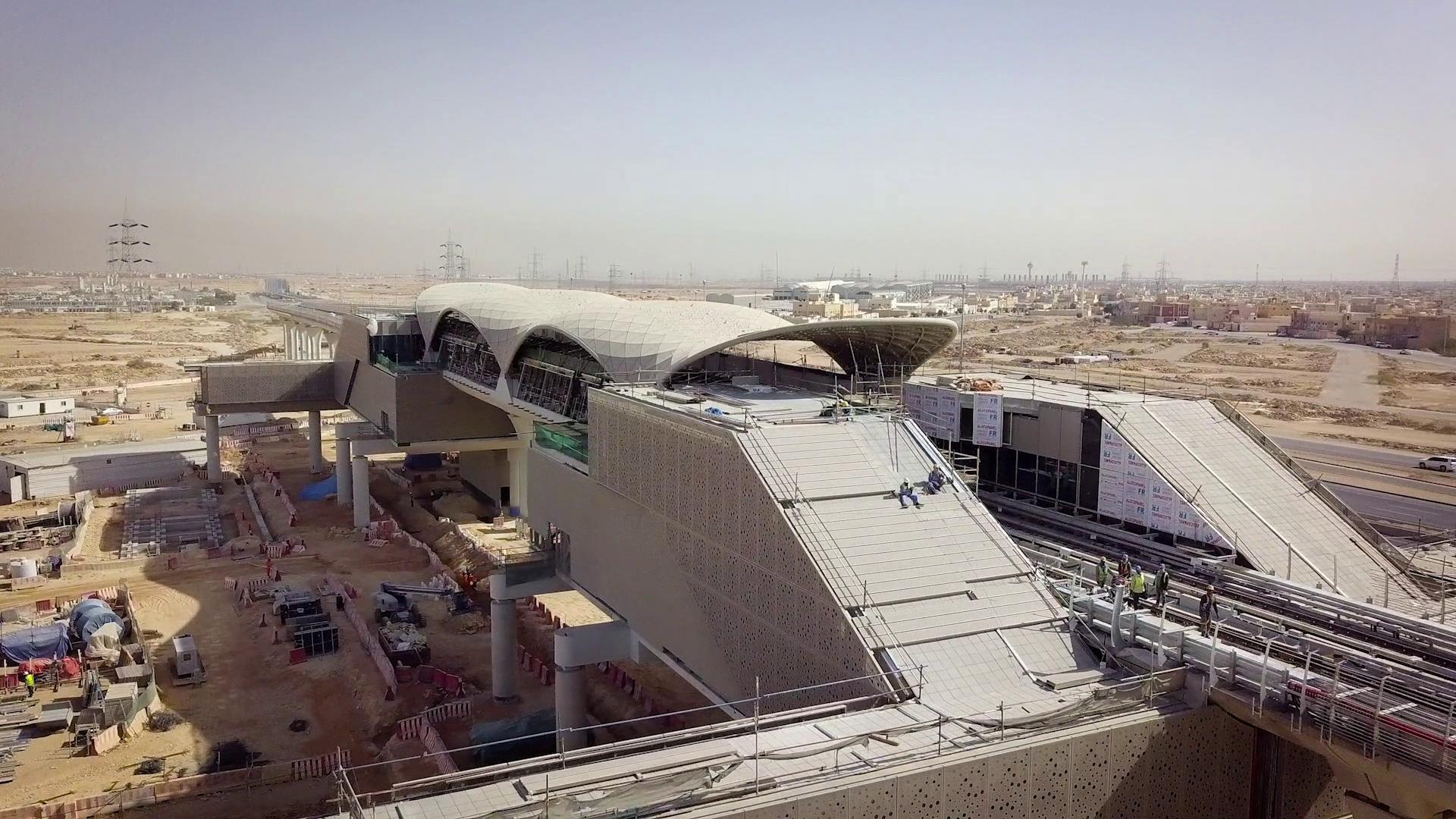 Nueva línea de metro de Riad en un video producido por Old Port Films para IDOM