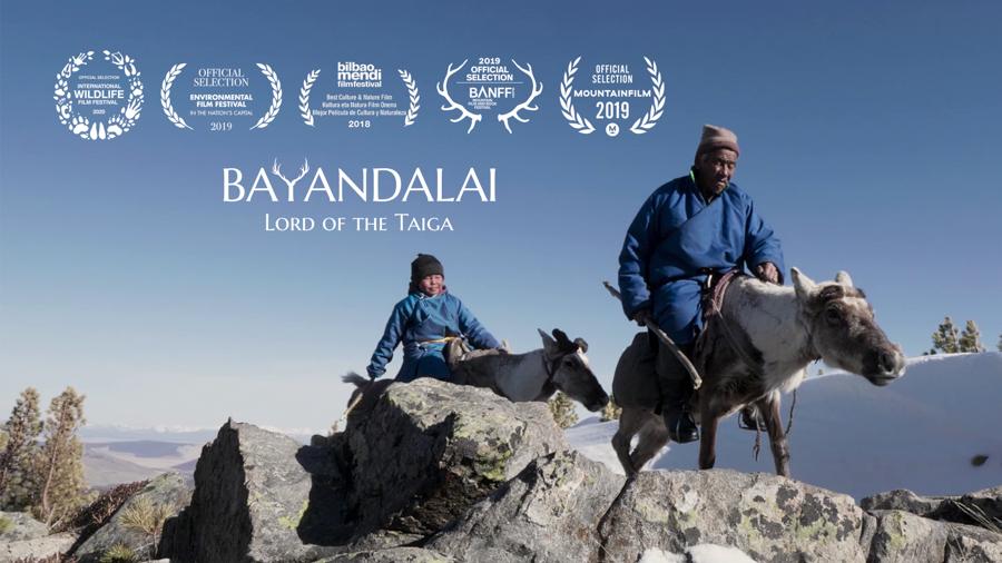 Cortometraje documental Bayandalai Señor de la Taiga, el último pastor de renos de Mongolia